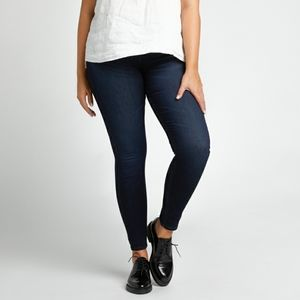 Silver Jeans Mazy Skinny Jigh Waisted Dark Jegging
